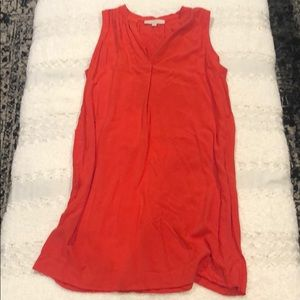 Ann Taylor Loft coral red sundress size large